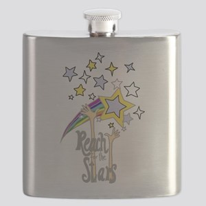 Reach for the Stars Art Flask