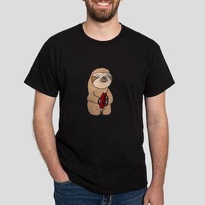 Sloth Playing Cymbals T-Shirt