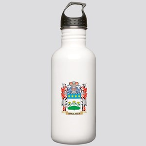 Spillings Coat of Arms Stainless Water Bottle 1.0L