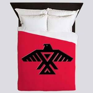 Anishinaabe Thunderbird flag Queen Duvet