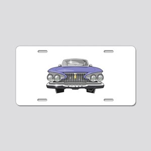 1961 Plymouth Aluminum License Plate