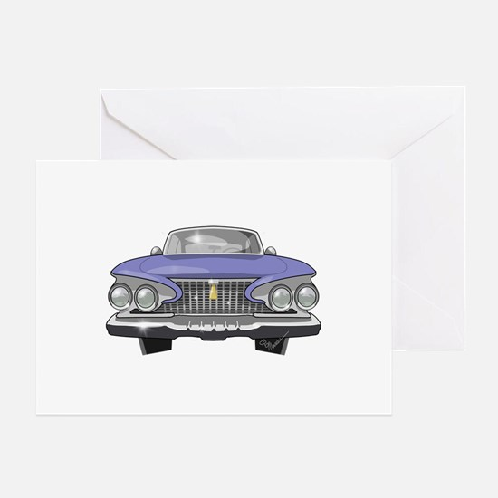 1961 Plymouth Greeting Card