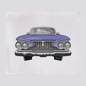 1961 Plymouth Throw Blanket