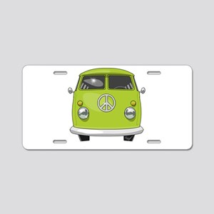 Hippie Van Aluminum License Plate