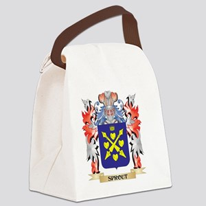 Sprout Coat of Arms - Family Cres Canvas Lunch Bag
