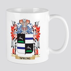 Sprung Coat of Arms - Family Crest Mugs