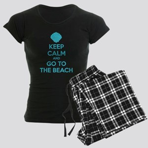 Keep calm and go to the beach Pajamas