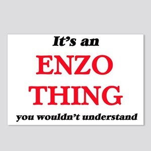 It's an Enzo thing, y Postcards (Package of 8)