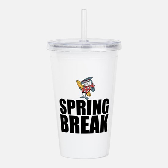Spring Break Acrylic Double-wall Tumbler