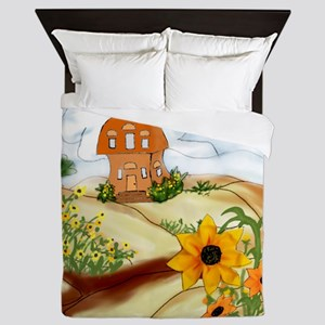 Right At Home With the Daisies Queen Duvet