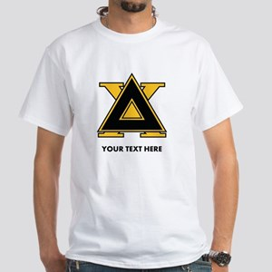Delta Chi Fraternity Letters Persona White T-Shirt