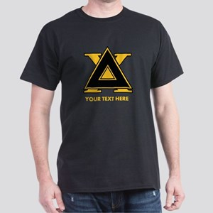 Delta Chi Fraternity Letters Personal Dark T-Shirt