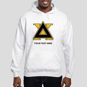 Delta Chi Fraternity Letters Per Hooded Sweatshirt