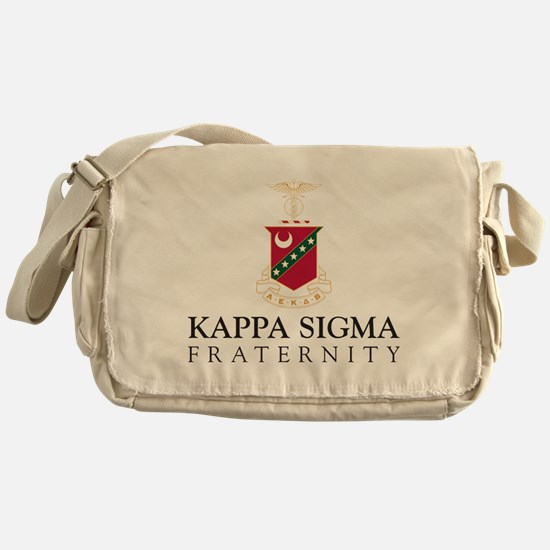 Cute Fraternity crest Messenger Bag