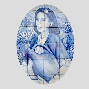 Azulejo mural Oval Ornament