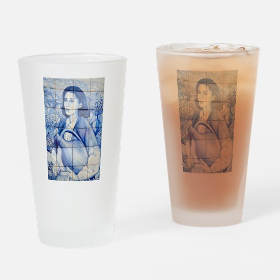 Azulejo mural Drinking Glass