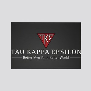Tau Kappa Epsilon Logo Rectangle Magnet