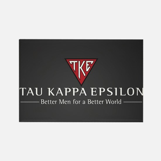 Tau Kappa Epsilon Logo Rectangle Magnet