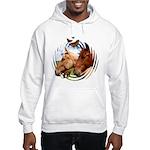 2 Horses Hooded Sweatshirt