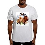 2 Horses Ash Grey T-Shirt