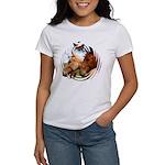2 Horses Women's T-Shirt
