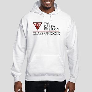 Tau Kappa Epsilon Class of XXXX Hooded Sweatshirt