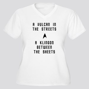A Vulcan in the Streets Plus Size T-Shirt