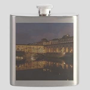 Ponte Vecchio Florence Flask