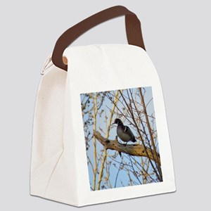 Wood duck Canvas Lunch Bag