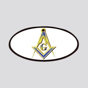 Freemason Square & Compasses Patch