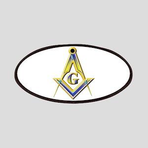 Freemason Square & Compasses Patch