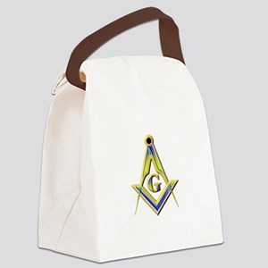 Freemason Square & Compasses Canvas Lunch Bag