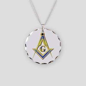 Freemason Square & Compasses Necklace