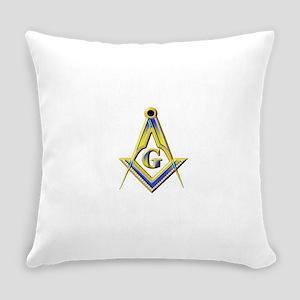 Freemason Square & Compasses Everyday Pillow