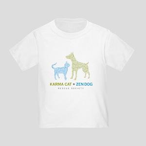 Karma Cat + Zen Dog Toddler T-Shirt