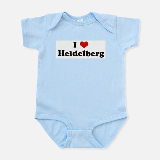 I Love Heidelberg Body Suit