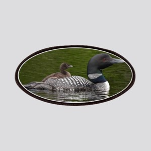 Loon With Baby Patch