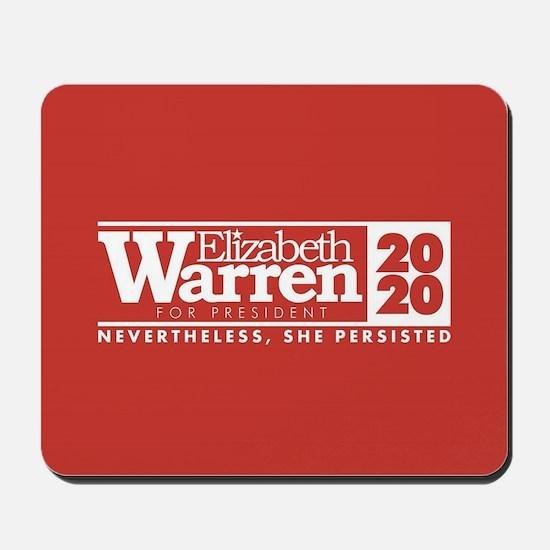 Warren 2020 Persist Mousepad