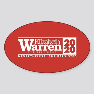 Warren 2020 Persist Sticker (Oval)