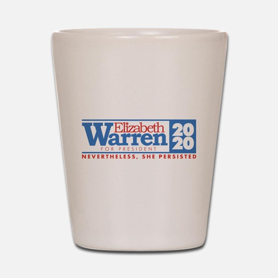 Warren 2020 Persist Shot Glass