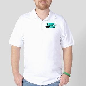 Shiba Inu Night Golf Shirt
