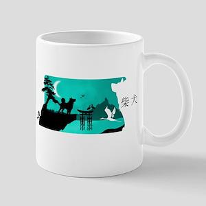 Shiba Inu Night Mugs