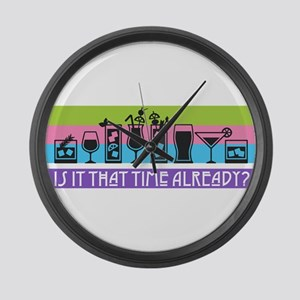 Is It That Time Already? Large Wall Clock