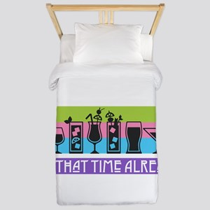 Is It That Time Already? Twin Duvet Cover