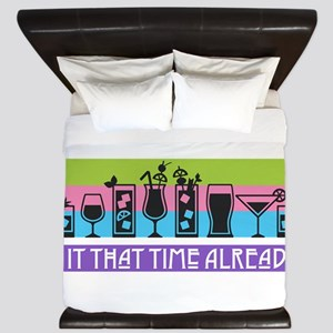 Is It That Time Already? King Duvet