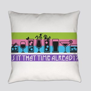 Is It That Time Already? Everyday Pillow