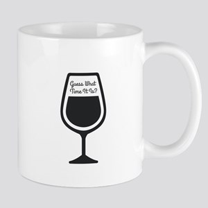 Guess What Time - WINE Mugs