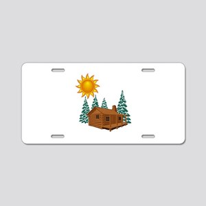 CABIN Aluminum License Plate
