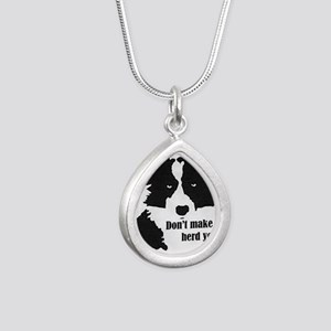 Border Collie Art Necklaces