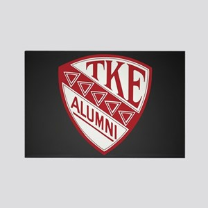 Tau Kappa Epsilon Shield Rectangle Magnet